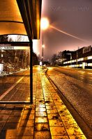 Waiting for the bus by vladde91