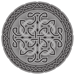 Celtic Shield BW by IllustratorG
