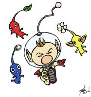 Captain Olimar by GenghisKrahn