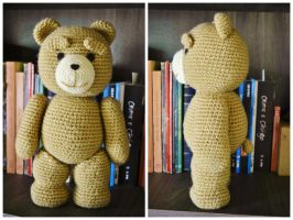 Urso Ted by gengibrecroche