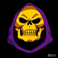 Skeletor's face by MikeBock