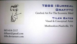 First Run Business Card by TB8S
