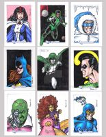DC Legacy Sketch Cards D by tonyperna