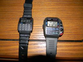 Calculator Watches by Perceptor