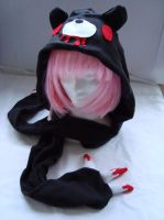 Black Gloomy Bear Scoodie by cookiesdust