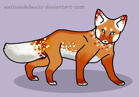 Fox Adopt - 25 Points by WeisseEdelweiss