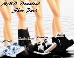 {MMD Download} Male Shoe Pack by SanctuarysEmbrace