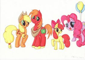 Apples to the core by PumpkinKikile