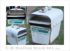 C-M Mailbox Stock 001 by crowned-meadow