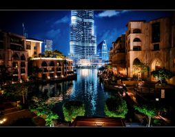 Dubai at Night 10 by calimer00