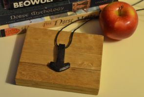 iron Mjolnir by Autumn Dog Forge 2 by AutumnDogForge