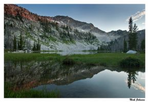 Rain Mountain Reflection by collectiveone