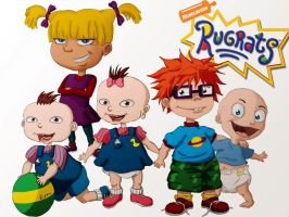 The RugRats by KiraTheArtist