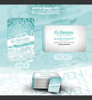 G-seven Business Cards by ammardesigns