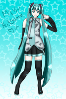 Miku Hatsune by SuiTania