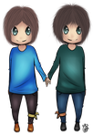 Commission: Seth and Tyler by KayMarie94