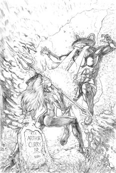 Mera Issue 1 Cover Pencils by craigcermak
