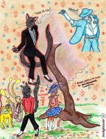 Michael Jackson in the world of LovercAts by Starlightina88