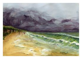 Reckoning by SALTWatercolors