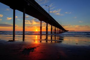Ocean Beach Pier by ChristopherPayne