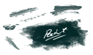 painted brushes by gunther-
