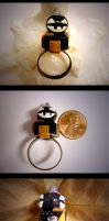 Black Jack-O-Lantern Ring by mayel411