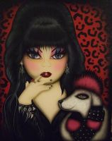 LITTLE MISTRESS OF THE DARK by luckyhellcat