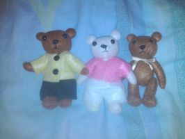 The 3 Little Teddies Bears by Vanouille-p