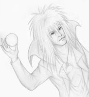 David Bowie, The Goblin King by ChaoticInsanity13