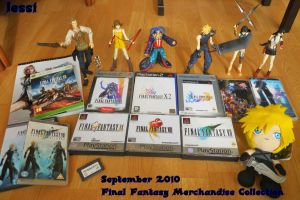 My FF Merchandise Sept2010 by JessiLovesGaGa