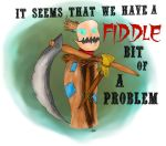 Fiddle Bit of a Problem by AngeloftheHalfMoon