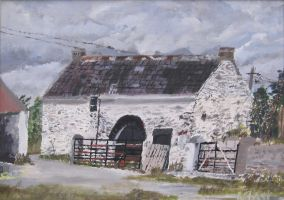 Old Farmhouse by eastcorkpainter