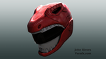 Red Ranger Redesign by ezraprogrammer