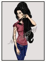 Amy Winehouse by Allie06