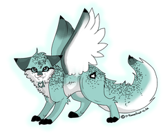 Winged Cat Adopt Auction 2 by Joker-Darling