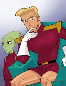 futurama- Zapp by supercluster-hong