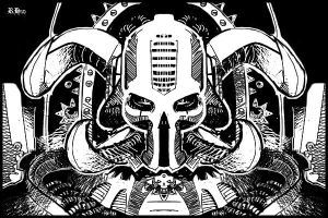 iPhone Chaos Lord by Rafta