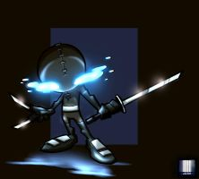 TYs Tenchu coloreded by dcjosh