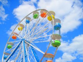 Candy-Coated Ferris Wheel by ObliviousFudge