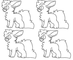 free ms paint lineart? by PinetreeQueen