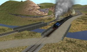 Ffarquhar quarry branch line by bonjourmonami