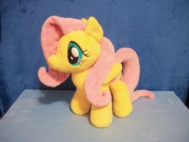 Fluttershy Plush by PrettyKitty