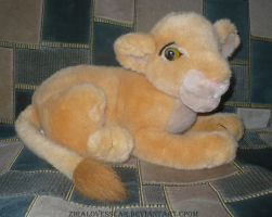 Nala  PLUSH Disney Store TLK by ZiraLovesScar