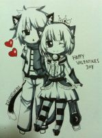 Happy Valentines Everyone! by Ryuukeru