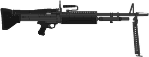 US Army Machine Gun M60 by DaltTT