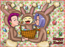 Joyeuses Paques - Happy Easter by Jezrocket