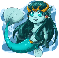 Monster Girl - Mermaid by deeum
