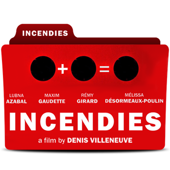 Incendies Folder Icon by bedobaho