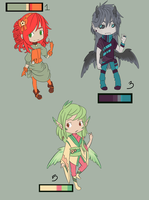 Finished Pallet Adoptables by Silents-Adoptables