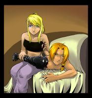 FMA: Edward and Winry by Sofie3387